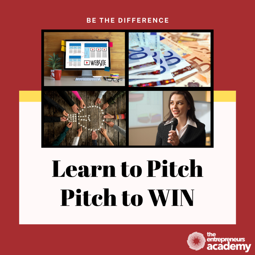 Learn to Pitch, Pitch to WIN