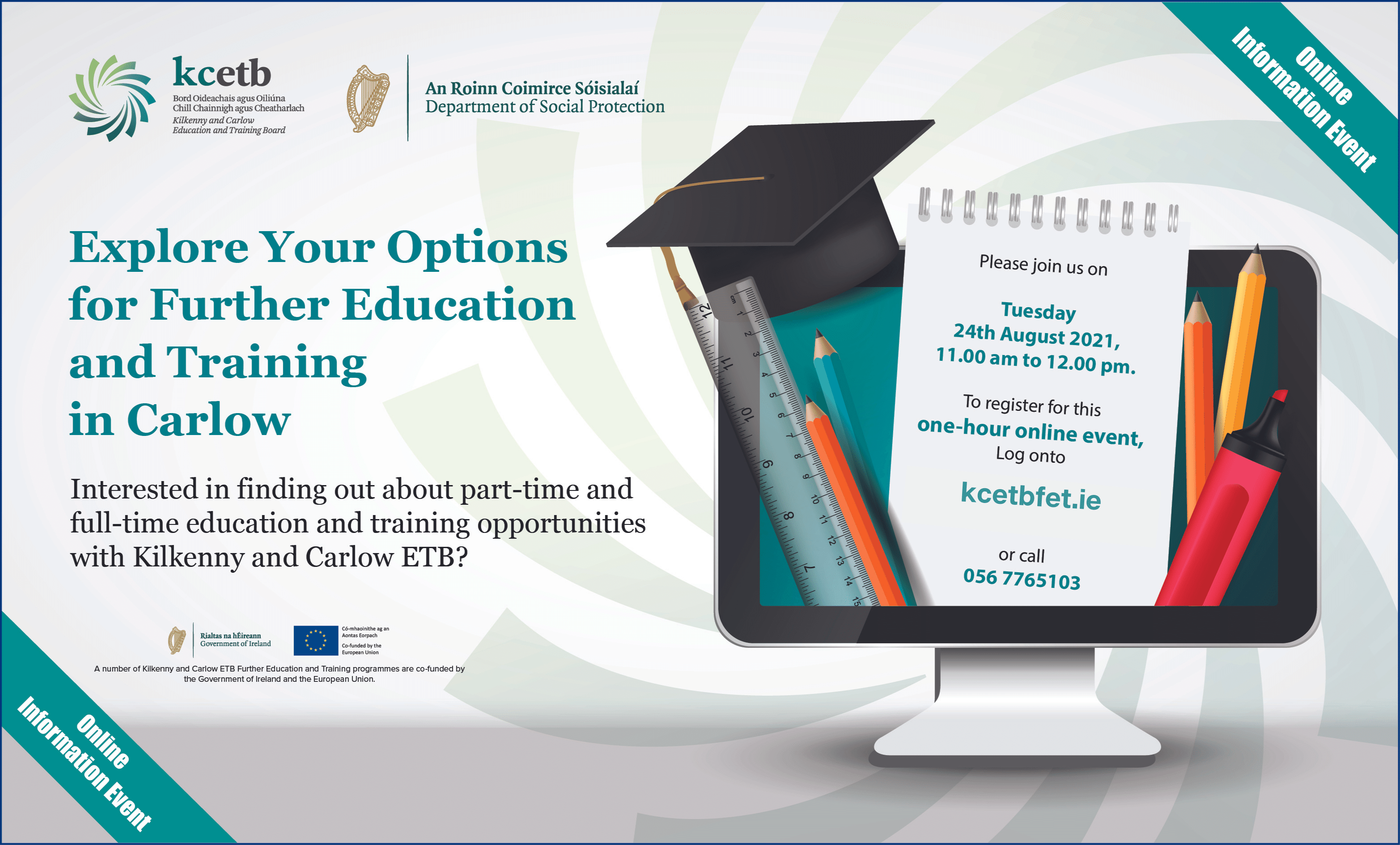 Explore Your Options for Further Education and Training in Carlow